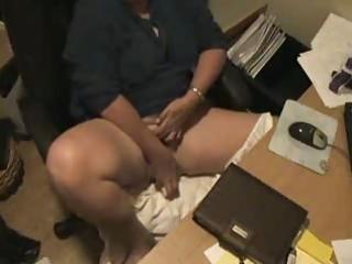 hidden webcam catches mum masturbating at computer