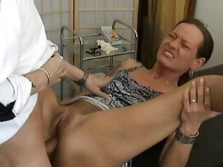 older amateur wife anal fuck with creampie