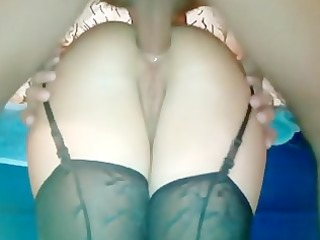 horny groaning sweetheart anal fucking from