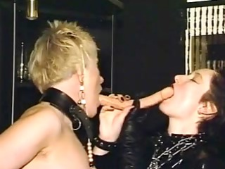 mature lesbo honeys toying each other