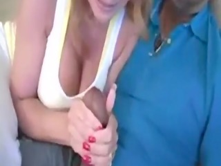 butt milf janet mason gets to play with a biggest