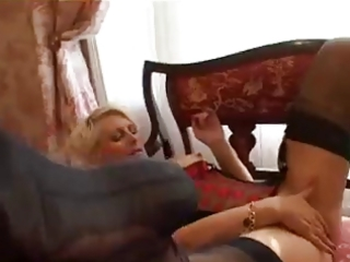 golden-haired milf has a fiddle