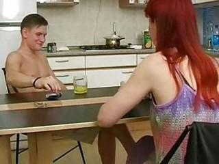 russian mama fucking with chap