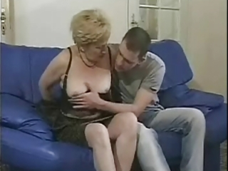 grannies loves to tease horny lads