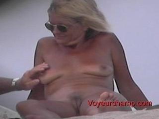 bare beach mother i s teasing!