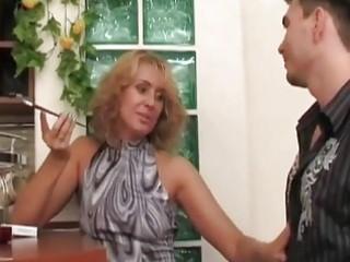 russian mother i slut seduces,fuck...